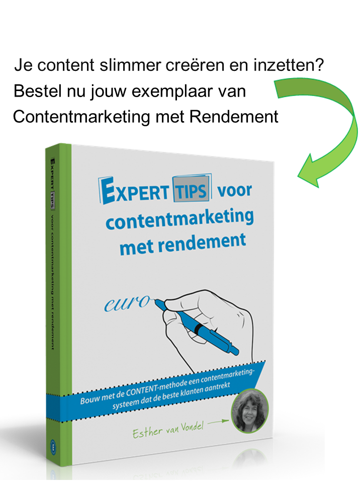 boek Contentmarketing met Rendement