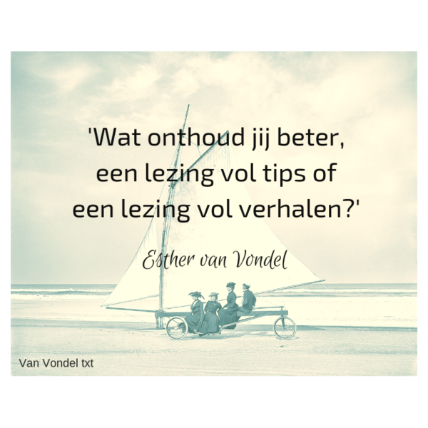 storytelling quote - jouw verhalen in je copy